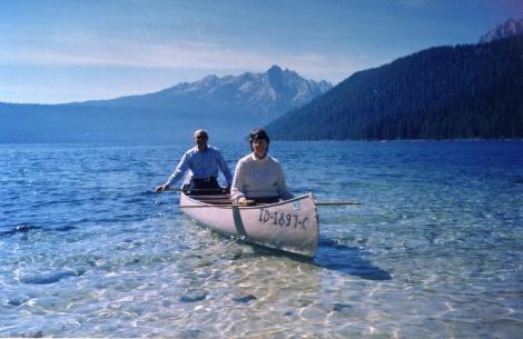 CanoeingRedFishLake